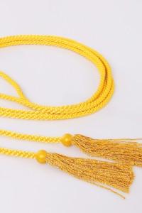 Cingulum frędzle żółty