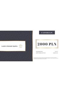 Karta podarunkowa 2000zł