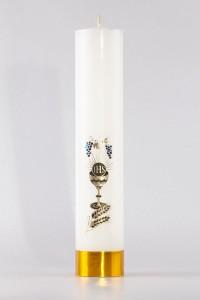 Komunia - świeca ołtarzowa, średnia [K9]