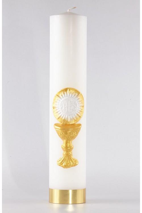 Komunia - świeca ołtarzowa...