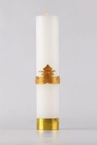 Komunia - świeca ołtarzowa, średnia [K4]