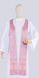 Stuły różowe - Stuły - E-liturgia.pl