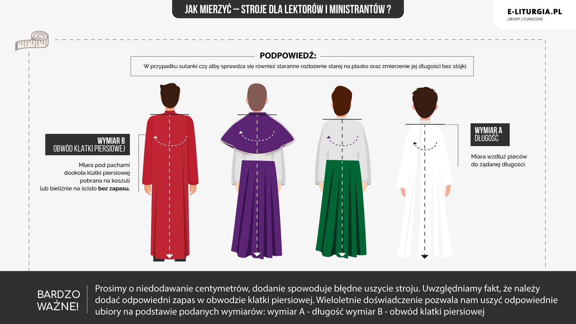 Lektorzy i ministranci (alby, alby kolorowe)